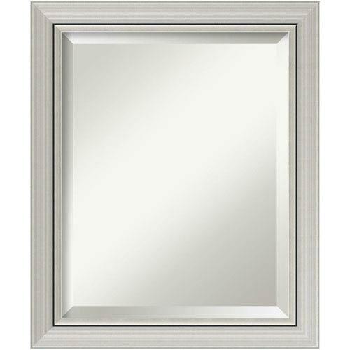 Romano Narrow Silver 20 x 24 In. Bathroom Mirror