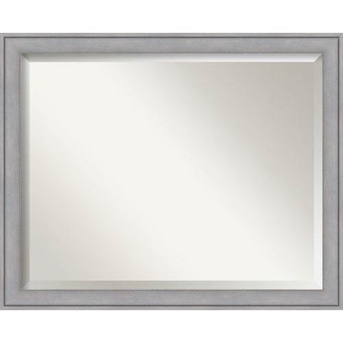 Graywash 31 x 25 In. Bathroom Mirror