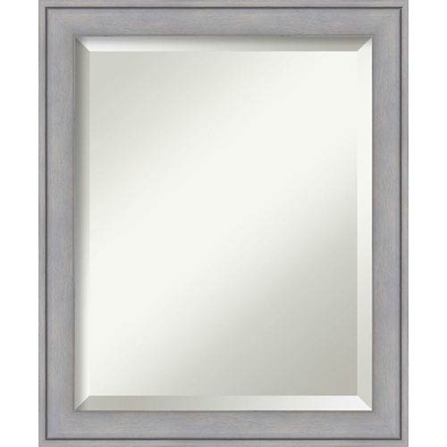 Graywash 19 x 23 In. Bathroom Mirror