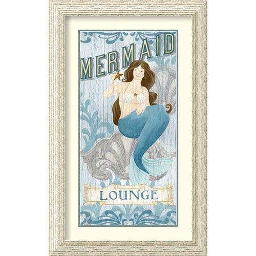 Amanti Art Mermaid I by June Vess, 20 In. x 32 In. Framed Art
