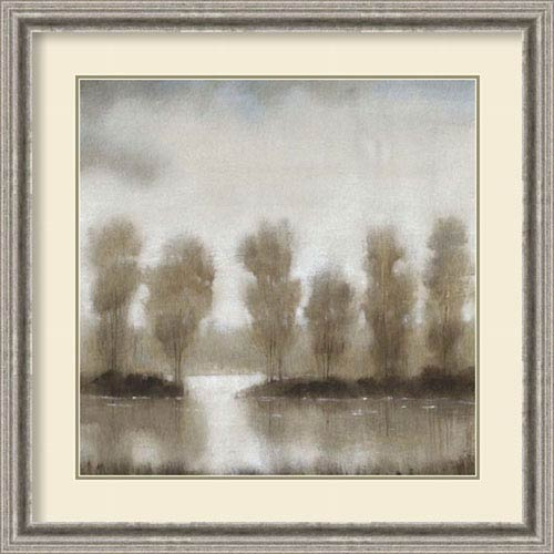 Amanti Art Subtle Reflection I by Tim OToole, 33 In. x 33 In. Framed Art