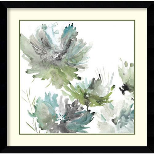 Amanti Art Summer Greens (Floral) by Rebecca Meyers, 37 In. x 37 In. Framed Art