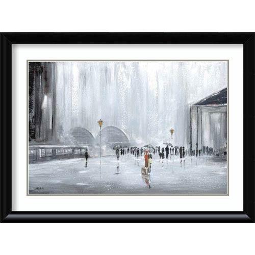 Amanti Art La Gare by Aziz Kadmiri, 42 In. x 31 In. Framed Art