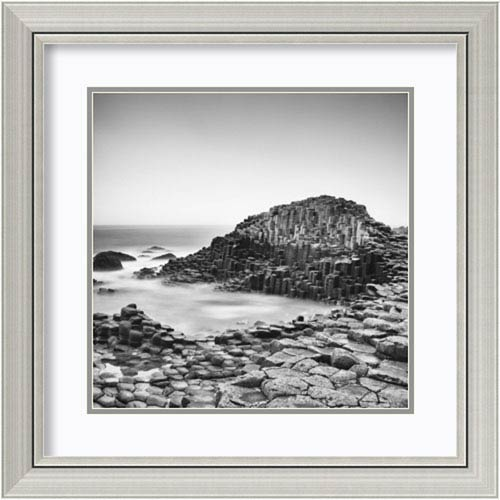 Amanti Art The Giants Causeway by Margaret Morrissey, 25 In. x 25 In. Framed Art