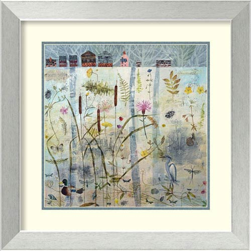 White Light by Dawn Stacey, 24 In. x 24 In. Framed Art