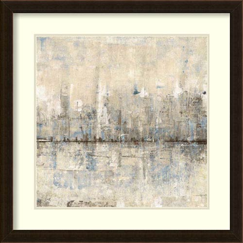 Amanti Art Impressionist Skyline I by Tim OToole, 25 In. x 25 In. Framed Art