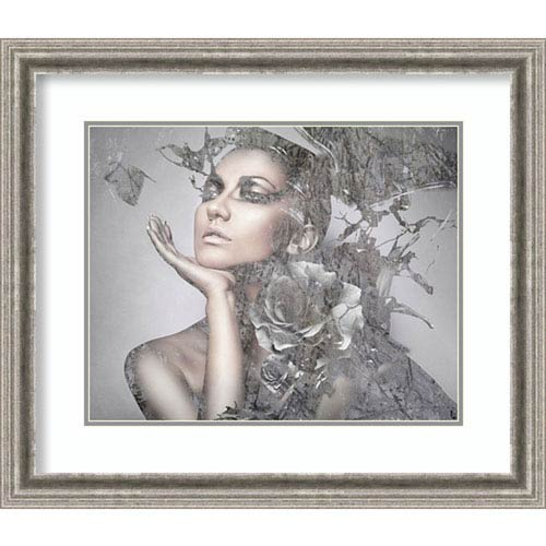Amanti Art Cool Grey by Graphinc, 29 In. x 25 In. Framed Art
