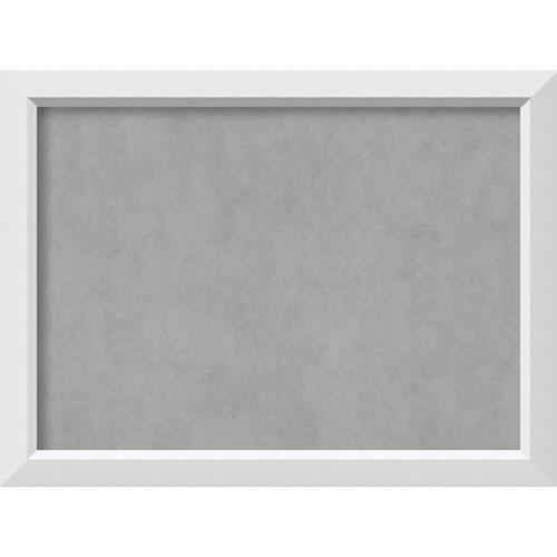 Blanco White, 32 In. x 24 In. Magnetic Board