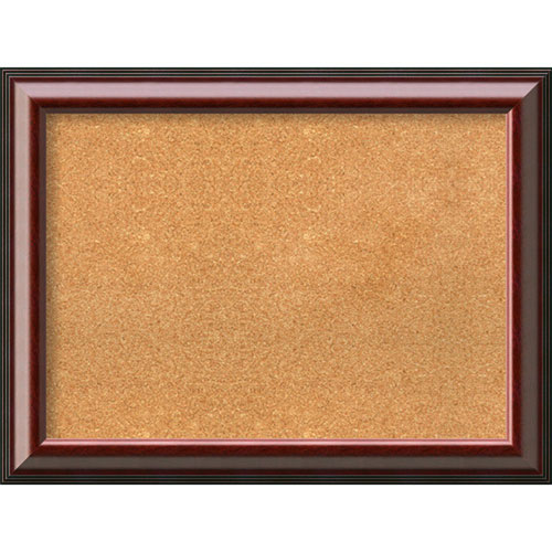 Cambridge Mahogany, 33 In. x 25 In. Message Board