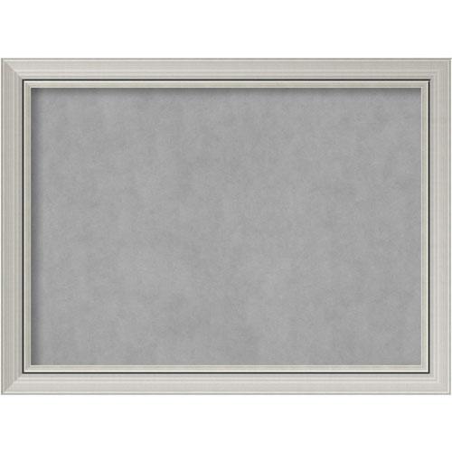Romano Silver, 32 In. x 24 In. Magnetic Board