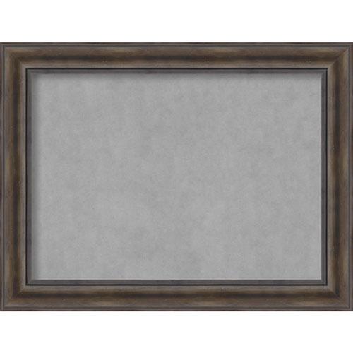 Amanti Art Rustic Pine, 34 In. x 26 In. Magnetic Board