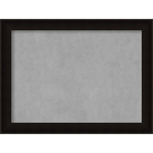 Amanti Art Manteaux Black, 32 In. x 24 In. Magnetic Board