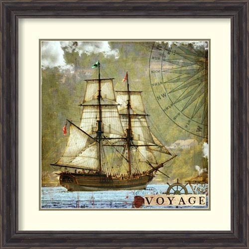 Amanti Art Voyage by Sandy Lloyd, 26 In. x 26 In. Framed Art
