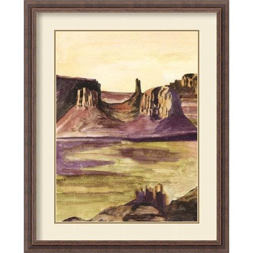 Amanti Art Desert Diptych I by Naomi McCavitt, 26 In. x 32 In. Framed Art