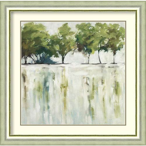 Amanti Art Reflections (Trees) by Jacqueline Ellens, 37 In. x 37 In. Framed Art