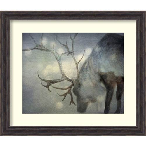 Amanti Art If On A Winters Night by Keri Bevan, 28 In. x 24 In. Framed Art