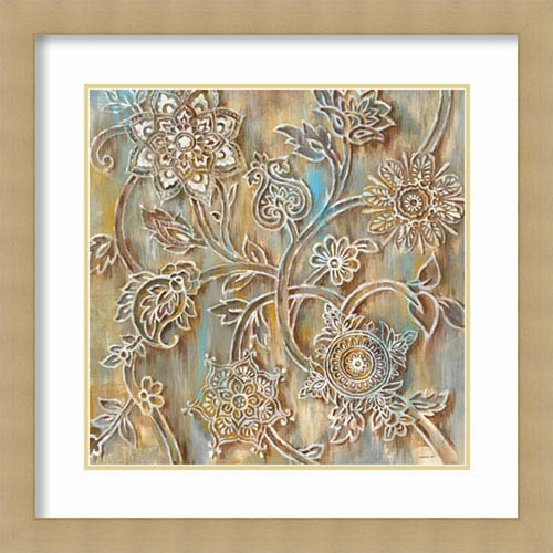 Henna Crop by Danhui Nai, 29 In. x 29 In. Framed Art