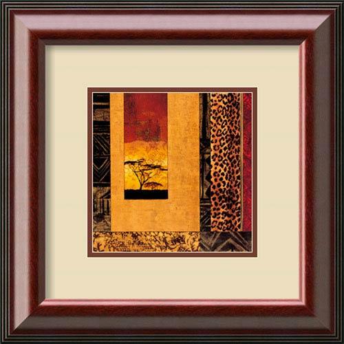 Amanti Art African Studies I by Chris Donovan, 21 In. x 21 In. Framed Art