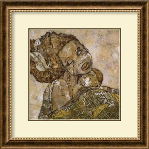 Amanti Art Morning Glory by April Harrison, 29 In. x 29 In. Framed Art