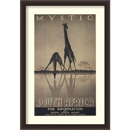 Mystic South Africa by Ullman, 32 In. x 46 In. Framed Art