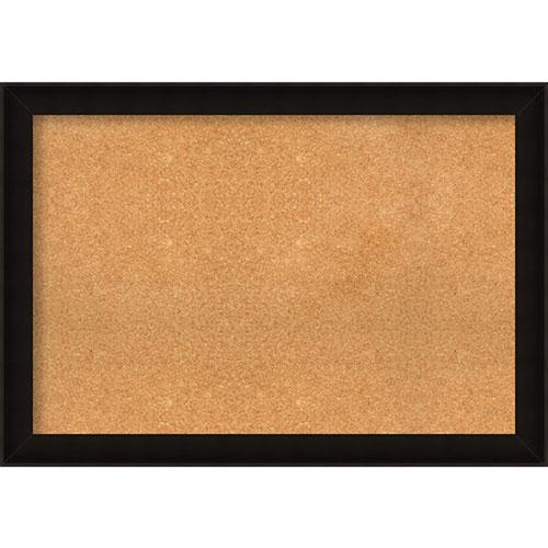 Amanti Art Manteaux Black, 40 In. x 28 In. Message Board