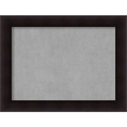 Amanti Art Portico Espresso, 34 In. x 26 In. Magnetic Board