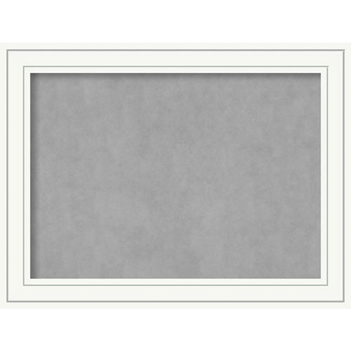 Amanti Art Craftsman White, 33 In. x 25 In. Magnetic Board