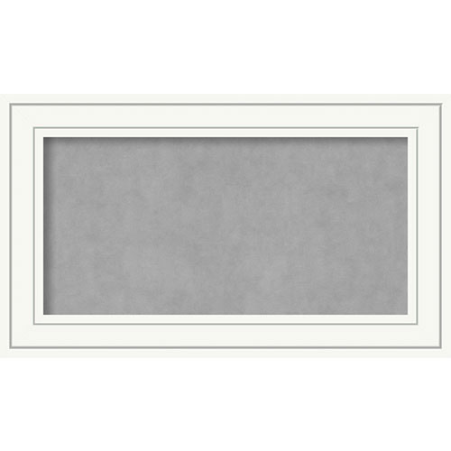 Amanti Art Craftsman White, 29 In. x 17 In. Magnetic Board