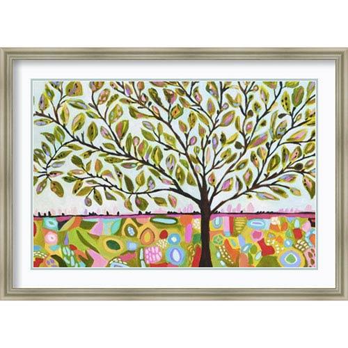 Amanti Art Tree Abstract by Karen Fields, 41 In. x 29 In. Framed Art