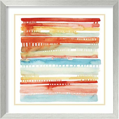 Amanti Art Connected Lines I by Grace Popp, 24 In. x 24 In. Framed Art