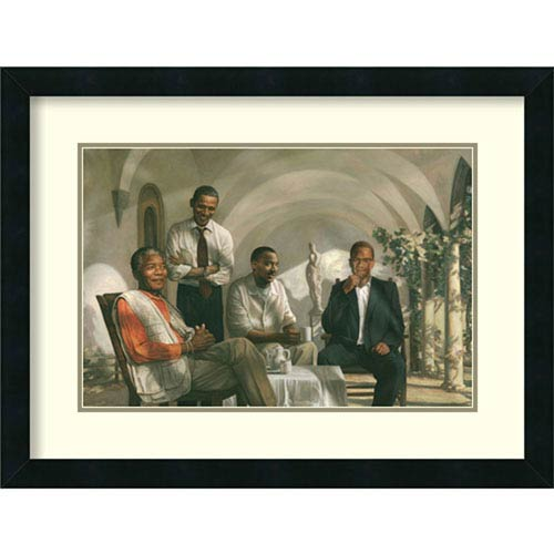The Pioneers, 25 In. x 19 In. Framed Art