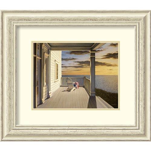 Last Light by Daniel Pollera, 24 In. x 21 In. Framed Art