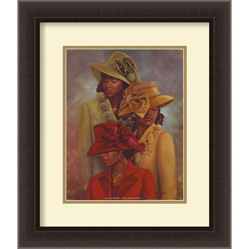 Amanti Art Crowns of Glory, 20 In. x 23 In. Framed Art