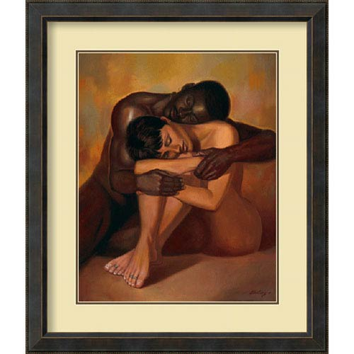 Amanti Art Tenderness by Sterling Brown, 36 In. x 42 In. Framed Art