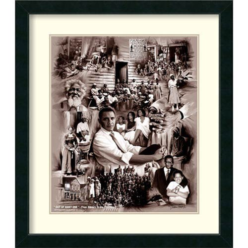 Amanti Art Out of Many One, 29 In. x 33 In. Framed Art