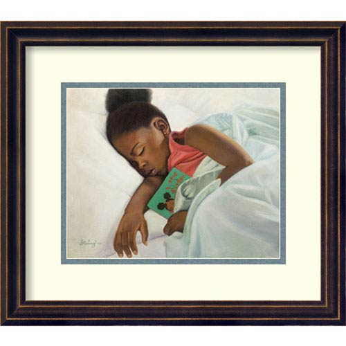 Amanti Art Little Sister by Sterling Brown, 16 In. x 14 In. Framed Art