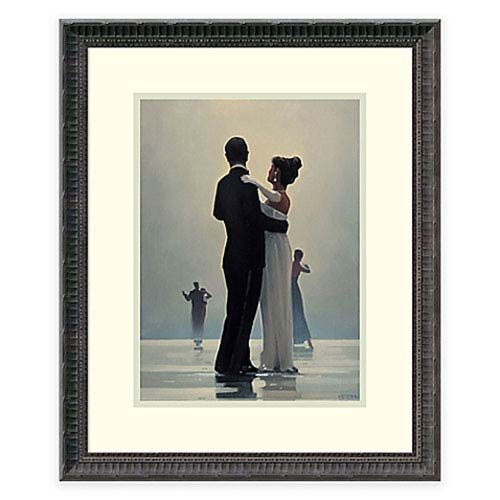 Dance Me to the End of Love by Jack Vettriano: 18 x 22-Inch Framed Art