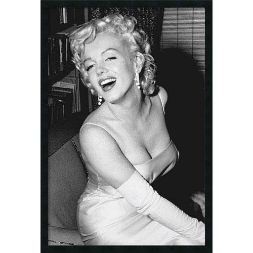 Marilyn Monroe Smiling: 25 x 37 Print Reproduction