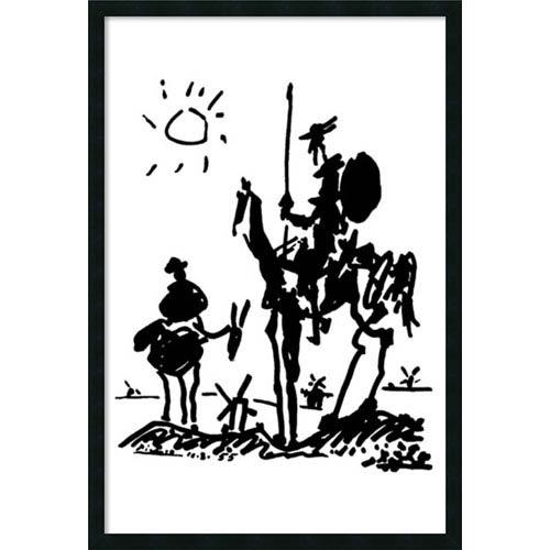 Don Quixote by Pablo Picasso: 25 x 37 Print Reproduction