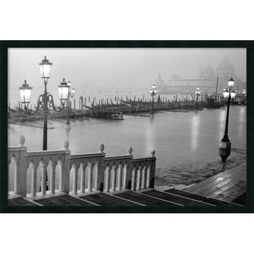 Amanti Art Grand Canal - Venice: 37 x 25 Print Reproduction