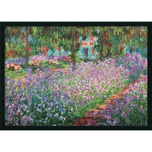 Le Jardin de Monet a Giverny by Claude Monet: 37 x 25 Print Reproduction