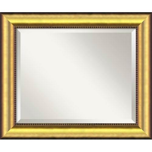 Amanti Art Vegas Burnished Gold Wall Mirror - Medium