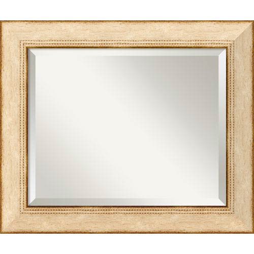 Amanti Art Highland Park Cream Wall Mirror - Medium
