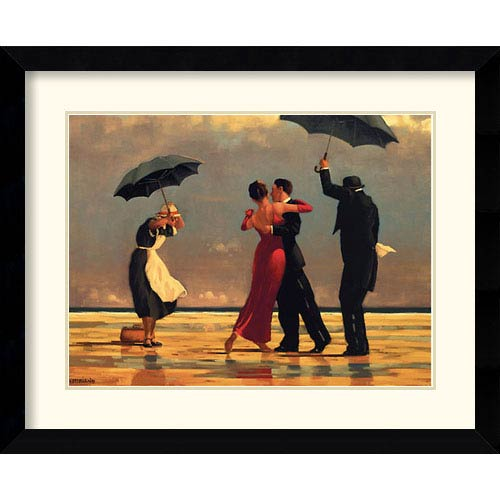 The Singing Butler by Jack Vettriano: 32.6 x 26.6 Framed Print