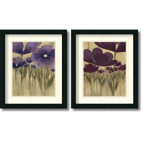 Amanti Art Summer Blooms - Set by Vittorio Maria: 20 x 17 Print Reproduction