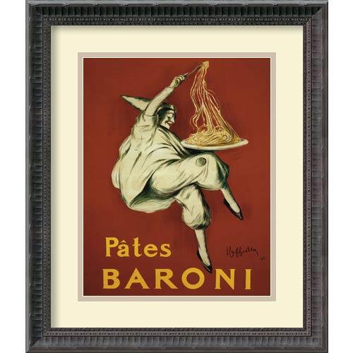 Amanti Art Pates Baroni (Ca. 1921) by Leonetto Cappiello: 16.25 x 19.25 Print Reproduction