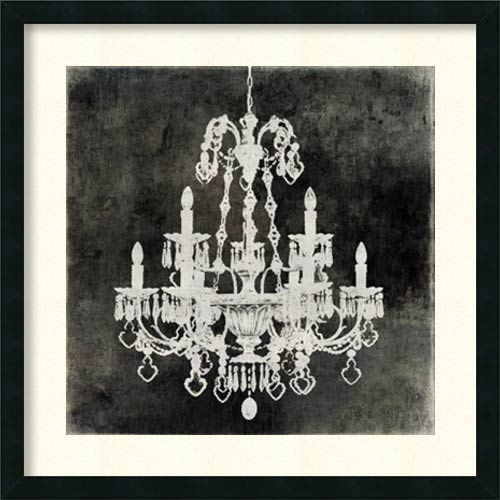 Amanti Art Chandelier II by Oliver Jeffries: 26 x 26 Print Reproduction