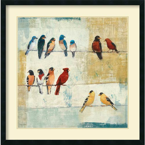 Amanti Art The Usual Suspects by Avery Tillmon: 34 x 34 Print Reproduction