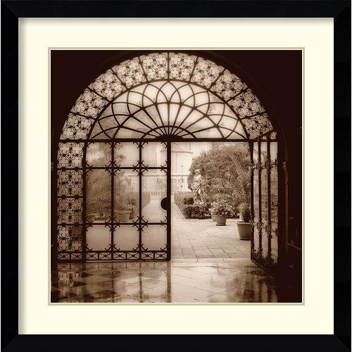 Amanti Art Courtyard in Venezia by Alan Blaustein: 32.63 x 32.63 Print Reproduction