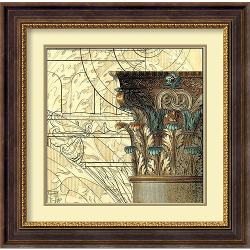 Amanti Art Architectural Inspiration I by Vision Studio: 23.75 x 23.75 Print Reproduction